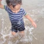 Getting my foot wet